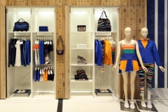 Custom mill-work Interior clothing Store View NYC