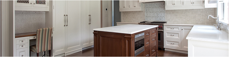 Residential Brooklyn millwork example, new kitchen design and fabrication.