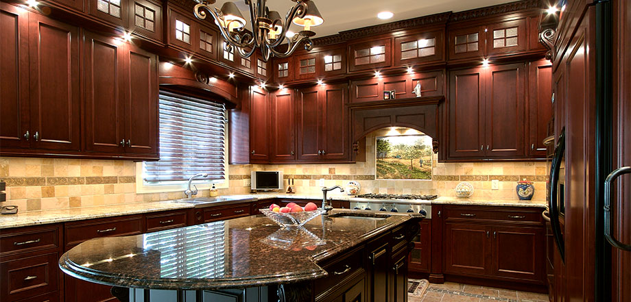 Residential custom mill work - Interior high end kitchen design and fabrication