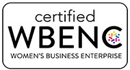 WBE Logo (women in business enterprise)